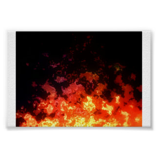 Flamage Poster