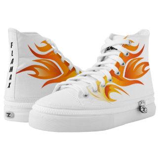Flamax Zipz High Top Shoes, US Men 4 / US Women 6