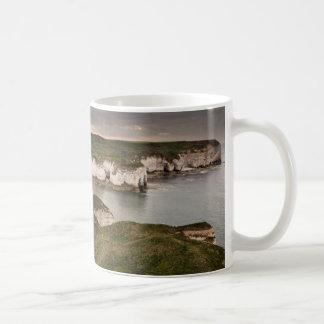 Flamborough Head and Selwicks Bay souvenir photo Coffee Mug