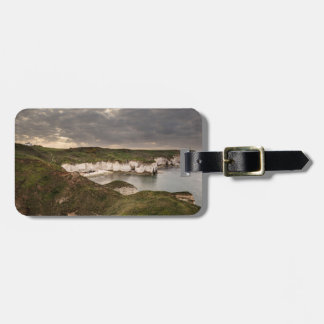 Flamborough Head and Selwicks Bay souvenir photo Luggage Tag