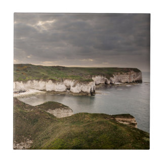 Flamborough Head and Selwicks Bay souvenir photo Tile