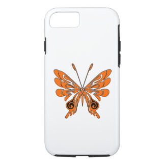 Flame Butterfly Tattoo iPhone 7 Case