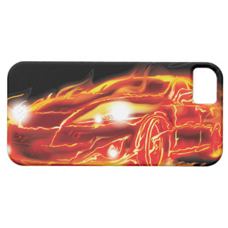 Flame Car Case For The iPhone 5