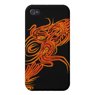 Flame Dragon iphone case Case For The iPhone 4