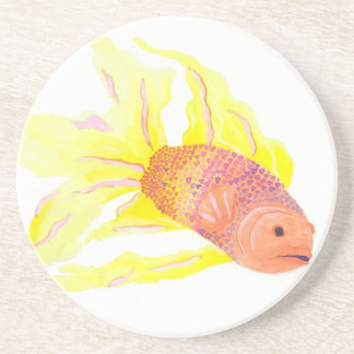 Flame Fish Coaster