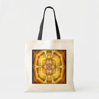 Flame Flower Kaleido-Tote Tote Bag