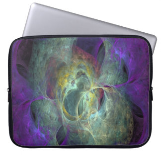 "Flame Fractal Zippered Sleeve for 15"" MacBook Air Computer Sleeve"