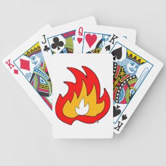 Flame Gurl Flame Poker Deck