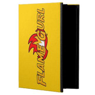 Flame Gurl Logo iPad Air Cover