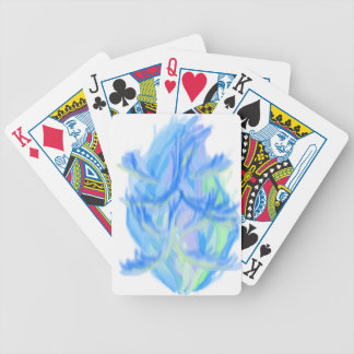 flame [japanese] bicycle playing cards