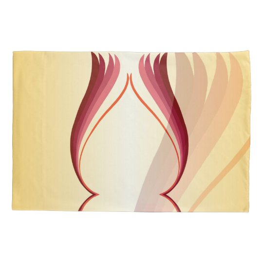 Flame Lily Reversible Pillowcase