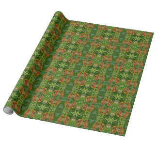 Flame Lily Wrapping Paper