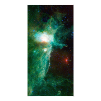 Flame Nebula NASA Space Customized Photo Card