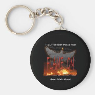 Flame On Keychain