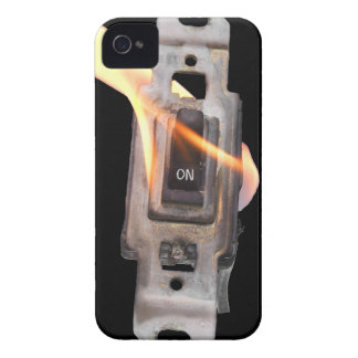 FLAME ON! Switch On Fire! Case-Mate iPhone 4 Cases