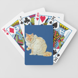 Flame point siamese cat 2 bicycle playing cards