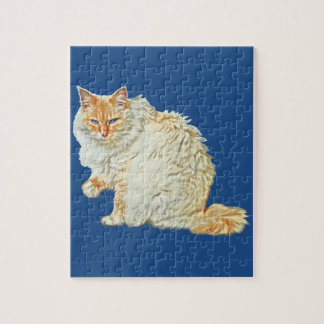 Flame point siamese cat 2 jigsaw puzzle