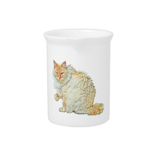 Flame point siamese cat 2 pitcher