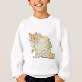 Flame point siamese cat 2 sweatshirt