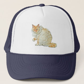 Flame point siamese cat 2 trucker hat