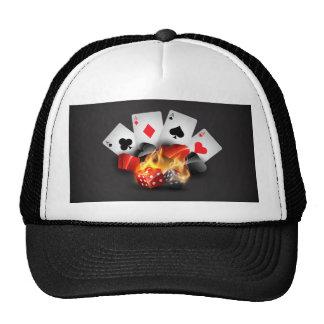 Flame Poker Casino Black Cap