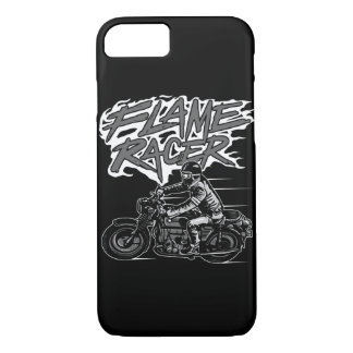 Flame Racer Glossy Phone Case