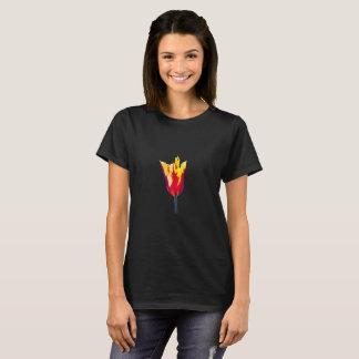 Flame Tongue Tulip T Shirt