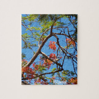 Flame Tree Jigsaw Puzzle