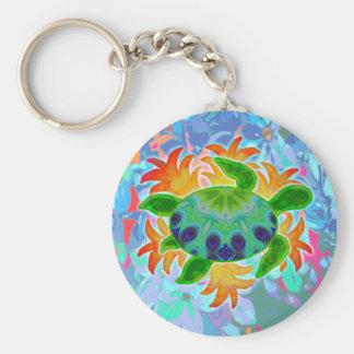 Flame Turtle Keychain