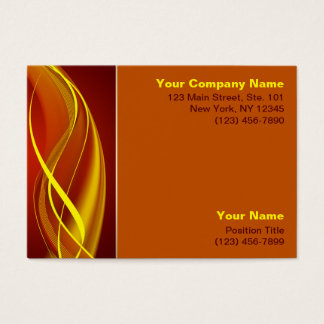 Flame Waves Business Card