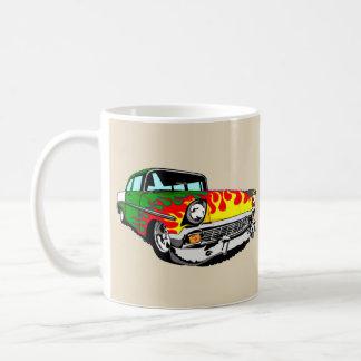 Flamed Green '56 Shoebox Coffee Mug