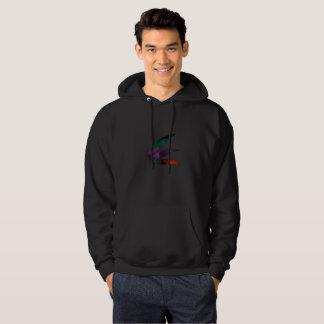 Flamedragon-sweater-Black Hoodie