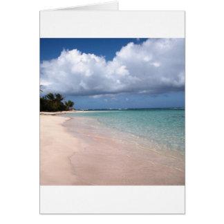 Flamenco Beach Culebra Card
