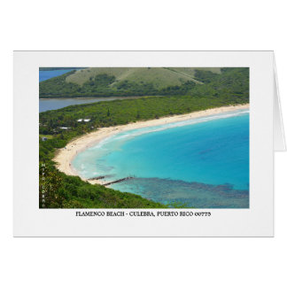 Flamenco Beach OP View - Island Snake Card
