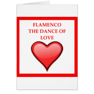 FLAMENCO CARD