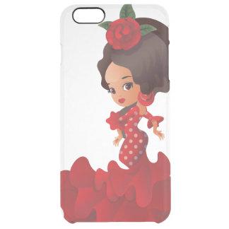Flamenco cartoon chibi kawaii girl