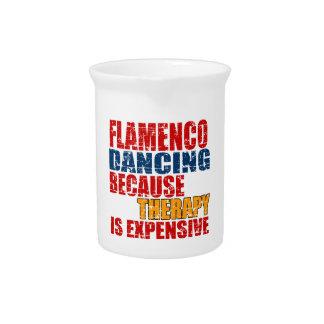 Flamenco Dance Designs Pitchers