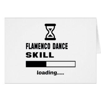 Flamenco dance skill Loading...... Card