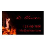 flamenco dancer business card templates