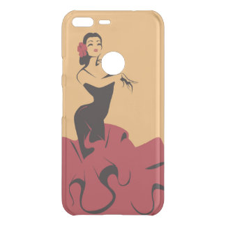 flamenco dancer in a spectacular pose uncommon google pixel XL case