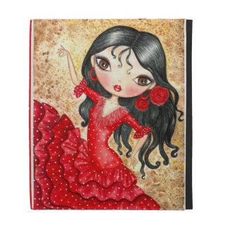 """""""Flamenco Dancer"""" iPad Folio Cases"""