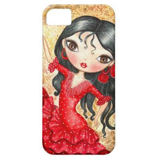 """Flamenco Dancer"" iPhone 5 Cover"