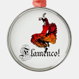 Flamenco Dancer Metal Ornament