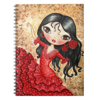 """Flamenco Dancer"" Notebook"