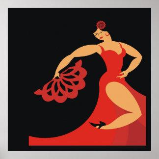Flamenco Dancer Series Poster Lg.