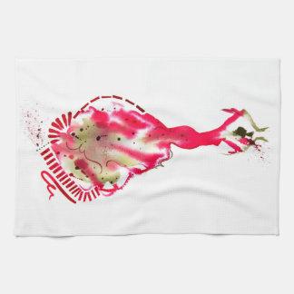 Flamenco Dancer T-Towel Hand Towel