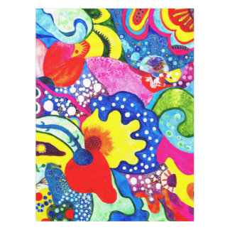 Flamenco Flowers. Tablecloth