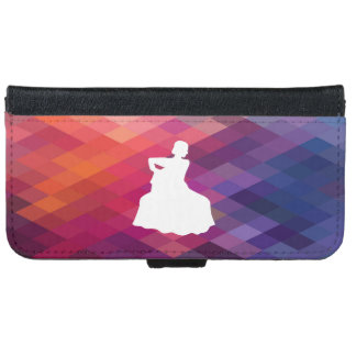 Flamenco Gowns Icon iPhone 6 Wallet Case
