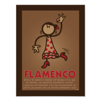 FLAMENCO poster (versión en español)