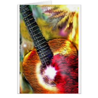 Flamenco Sunlight Card